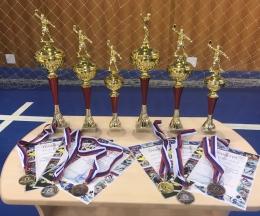 Победа в первенстве Рязанской области  по настольному теннису (до 13 лет)