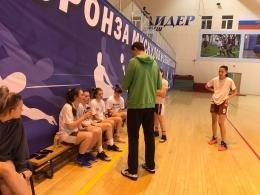 Товарищеские игры по баскетболу в СШОР «Лидер»